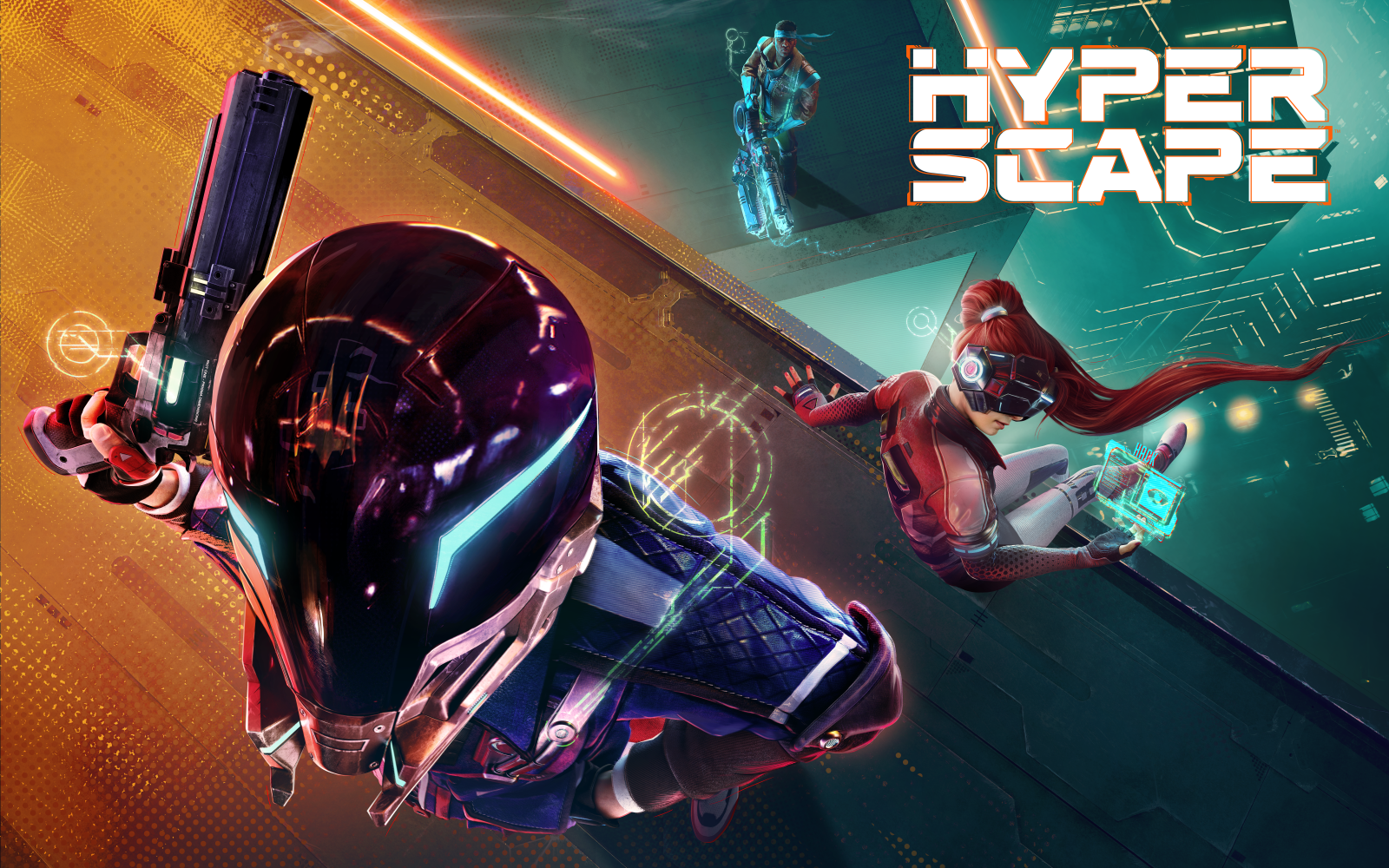 Hyper Scape, Free-To-Play Battle Royle FPS, Releasing August 11th For PC, PS4 & Xbox One