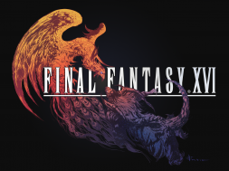 Final Fantasy XVI Logo Black