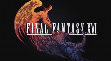Final Fantasy XVI Logo Black