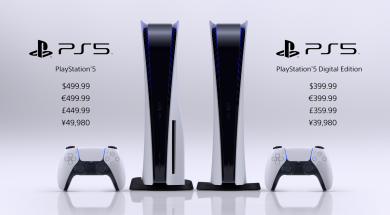PS5 prices Header