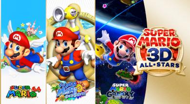 Super Mario 3D All-Stars Header