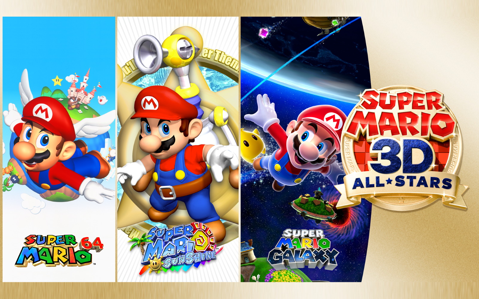 Super Mario 3D All-Stars Finally Confirmed & Releases In September