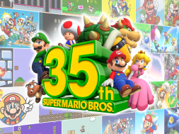 Super Mario Bros 35th Anniversary Header