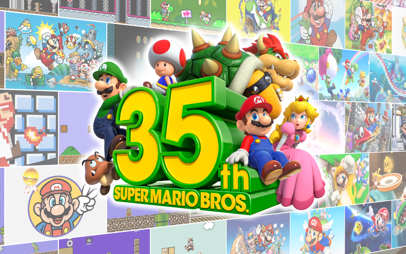 Super Mario Bros. 35th Anniversary – A Host Of Games, Products & Events Announced!