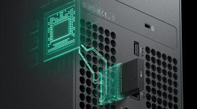 Xbox Series X Storage Header