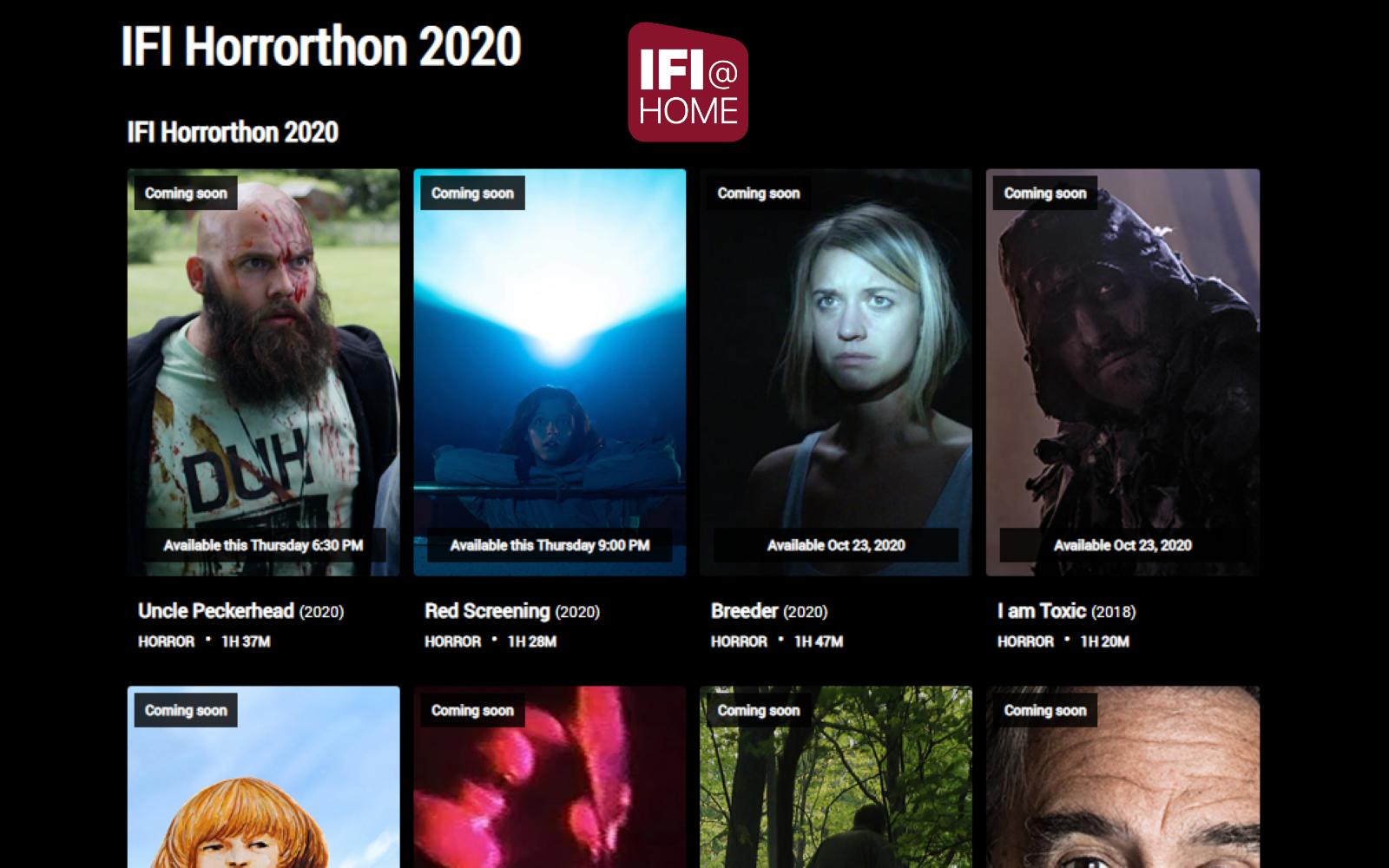 Irish Film Institute Announce Their Horrorthon Line-Up
