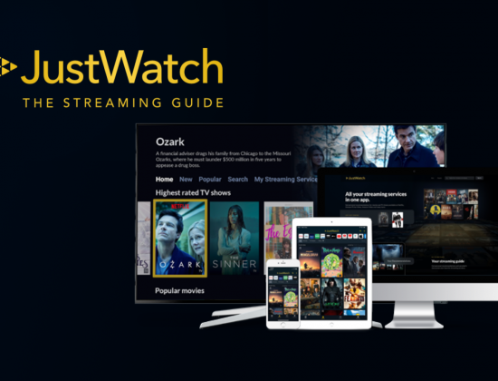 JustWatch Header