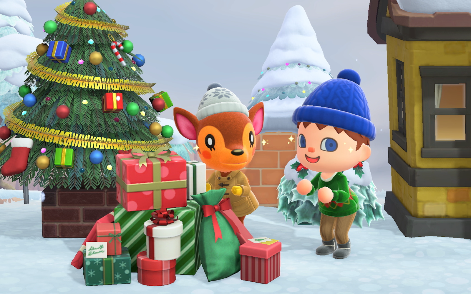 Animal Crossing: New Horizons Holiday Update