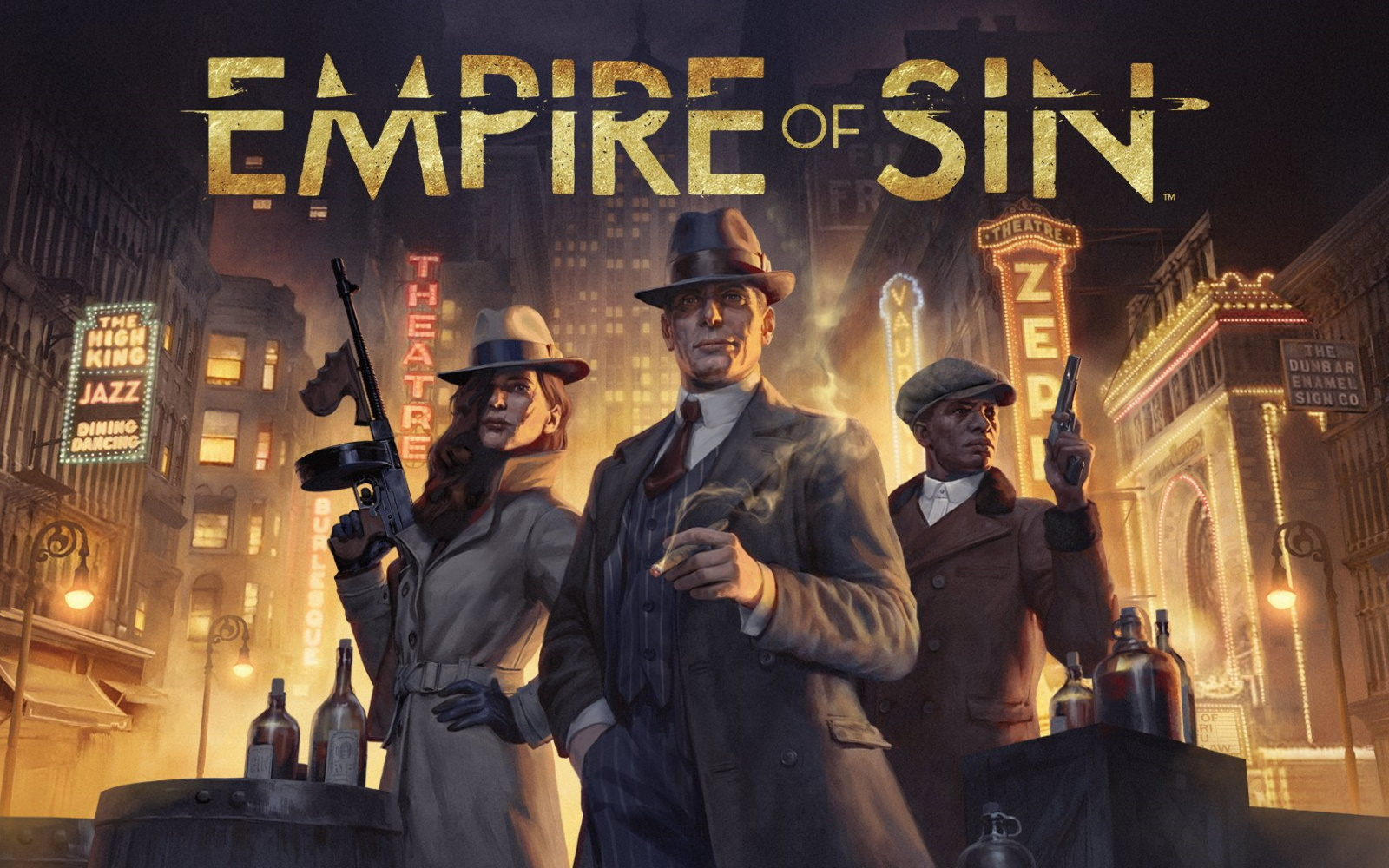 Become The Boss In Upcoming Mafia Strategy Title – Empire Of Sin