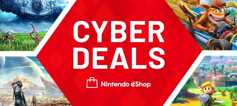 Nintendo eShop Cyber Deals