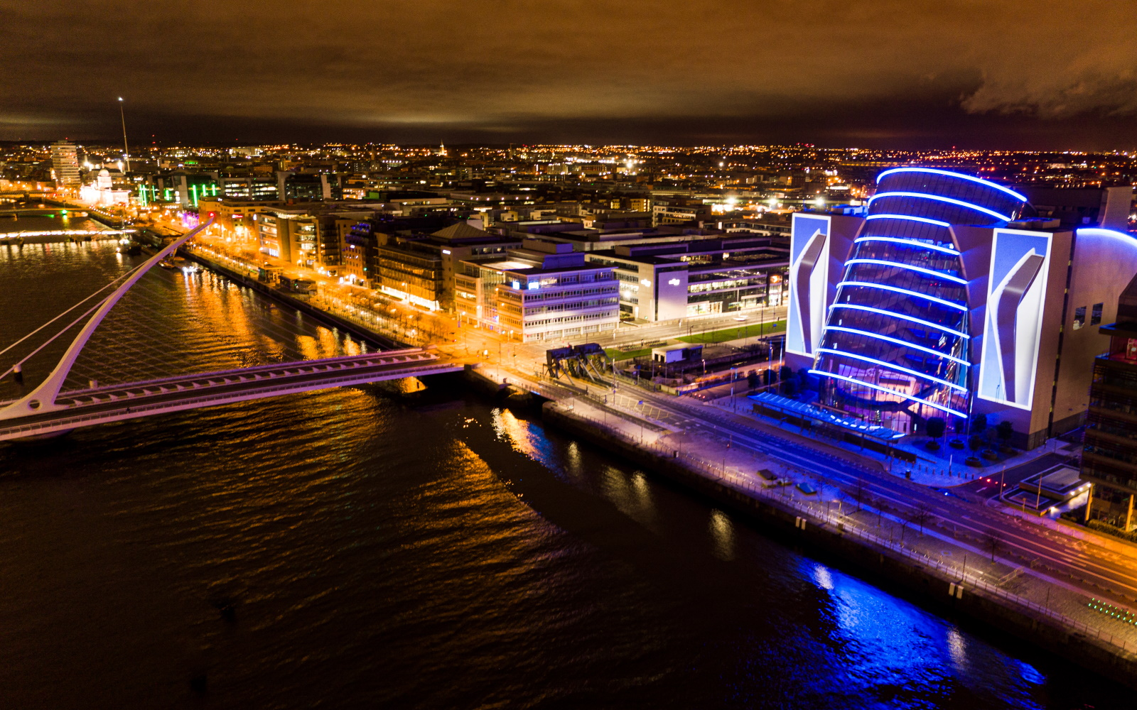 PlayStation Lights Up The Convention Centre Dublin As Part Of Launch