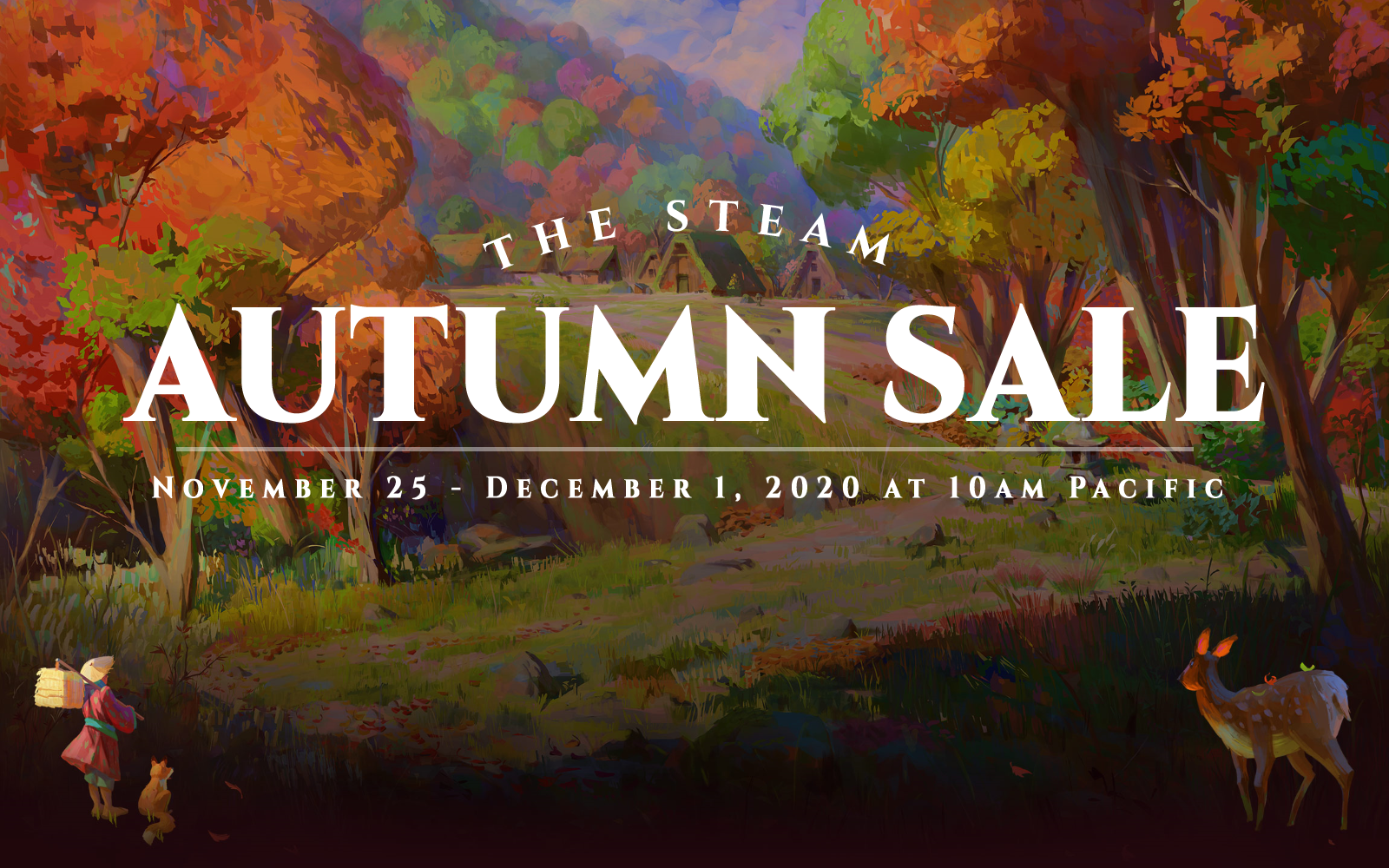 The Steam Autumn Sale Is Now On