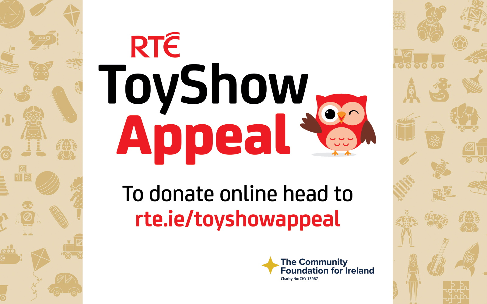 Over €6 Million Raised For Toy Show Appeal, As The Late Late Toy Show Was A Big Hit With People