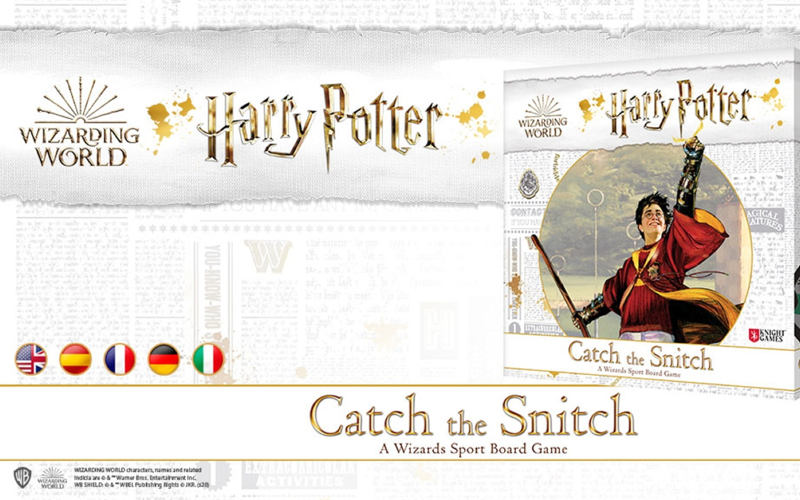 Quidditch Inspired Board Game Launched On Kickstarter