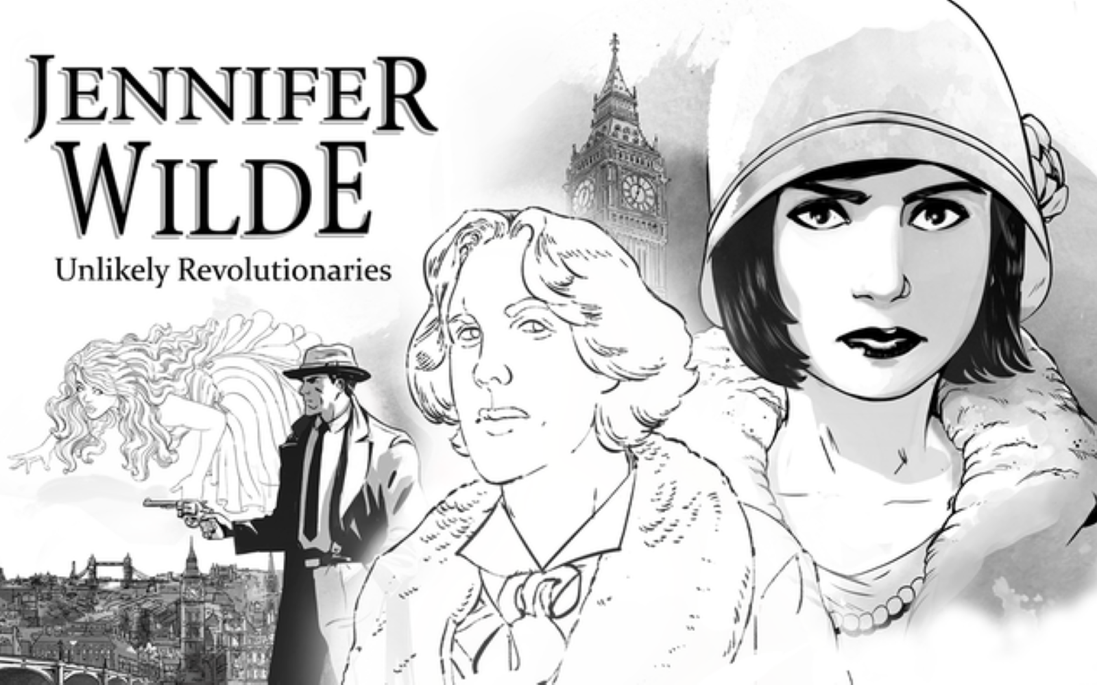 Jennifer Wilde: Unlikely Revolutionaries Gets New Trailer And Steam Page