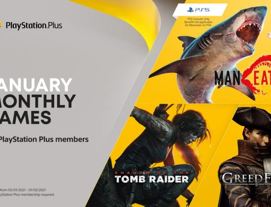 PS Plus January 2021 header