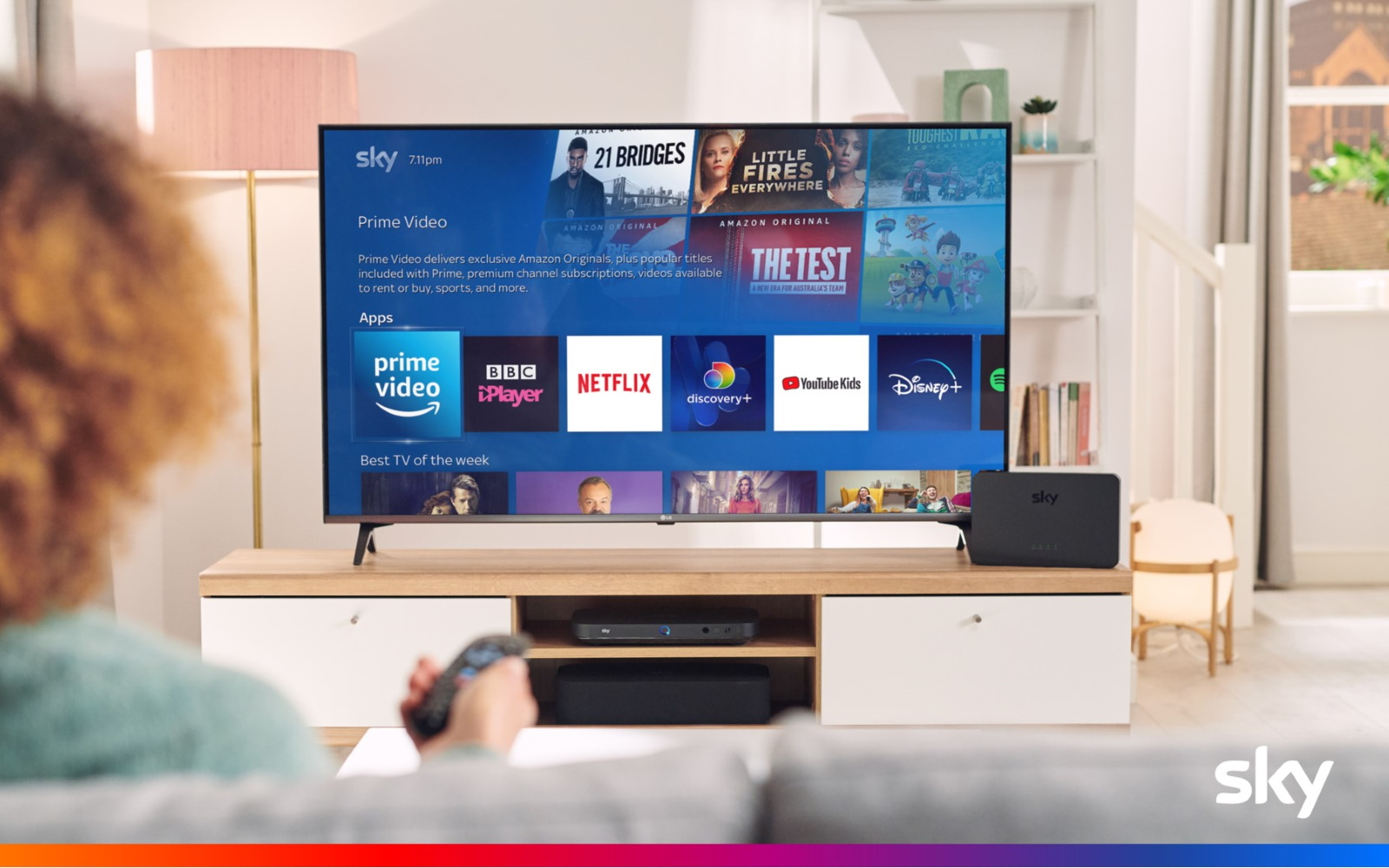 Amazon Prime Now Available On Sky Devices