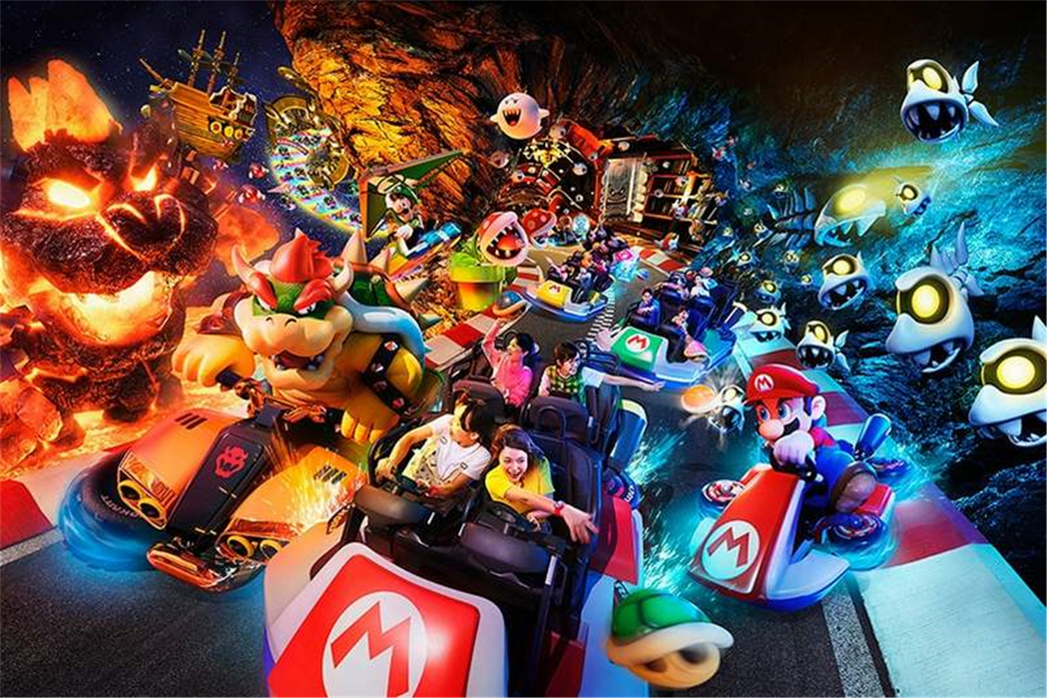 Nintendo Theme Park To Open In February And Will Have Mario Kart Ride