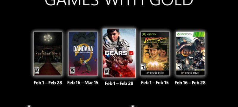 Games With Gold February 2021 Header