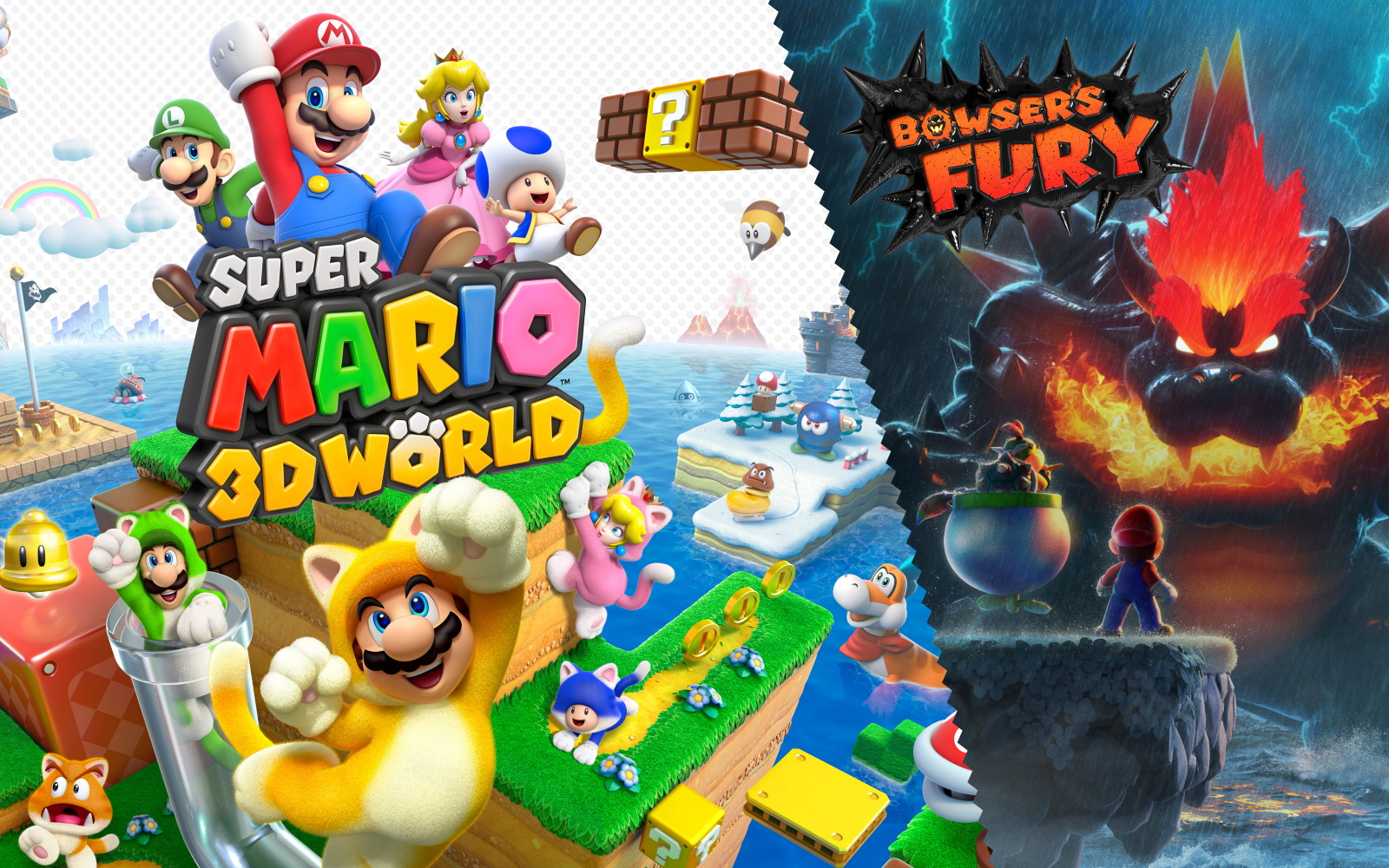 Bowser Set To Bring Fury This February. Plus Mario Themed Switch Announced