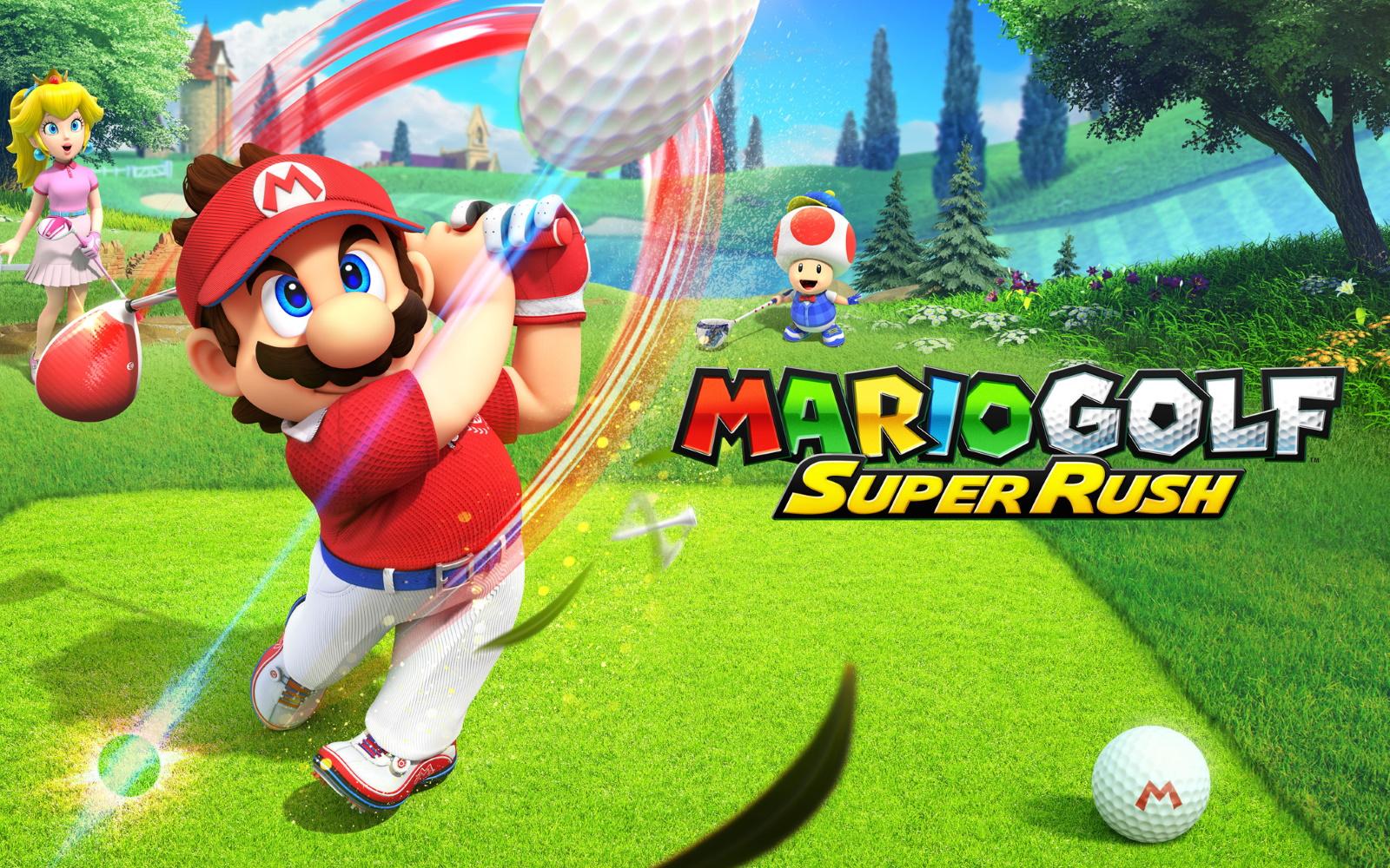 Tee Off This June, In Mario Golf: Super Rush