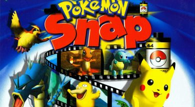 Pokemon Snap Header