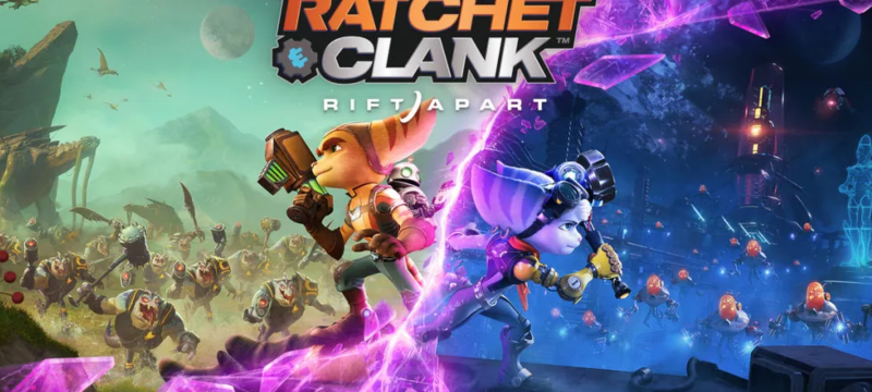 Ratchet and Clank Rift Apart Dated Header