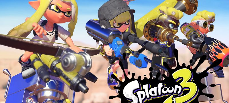 Splatoon 3 Header