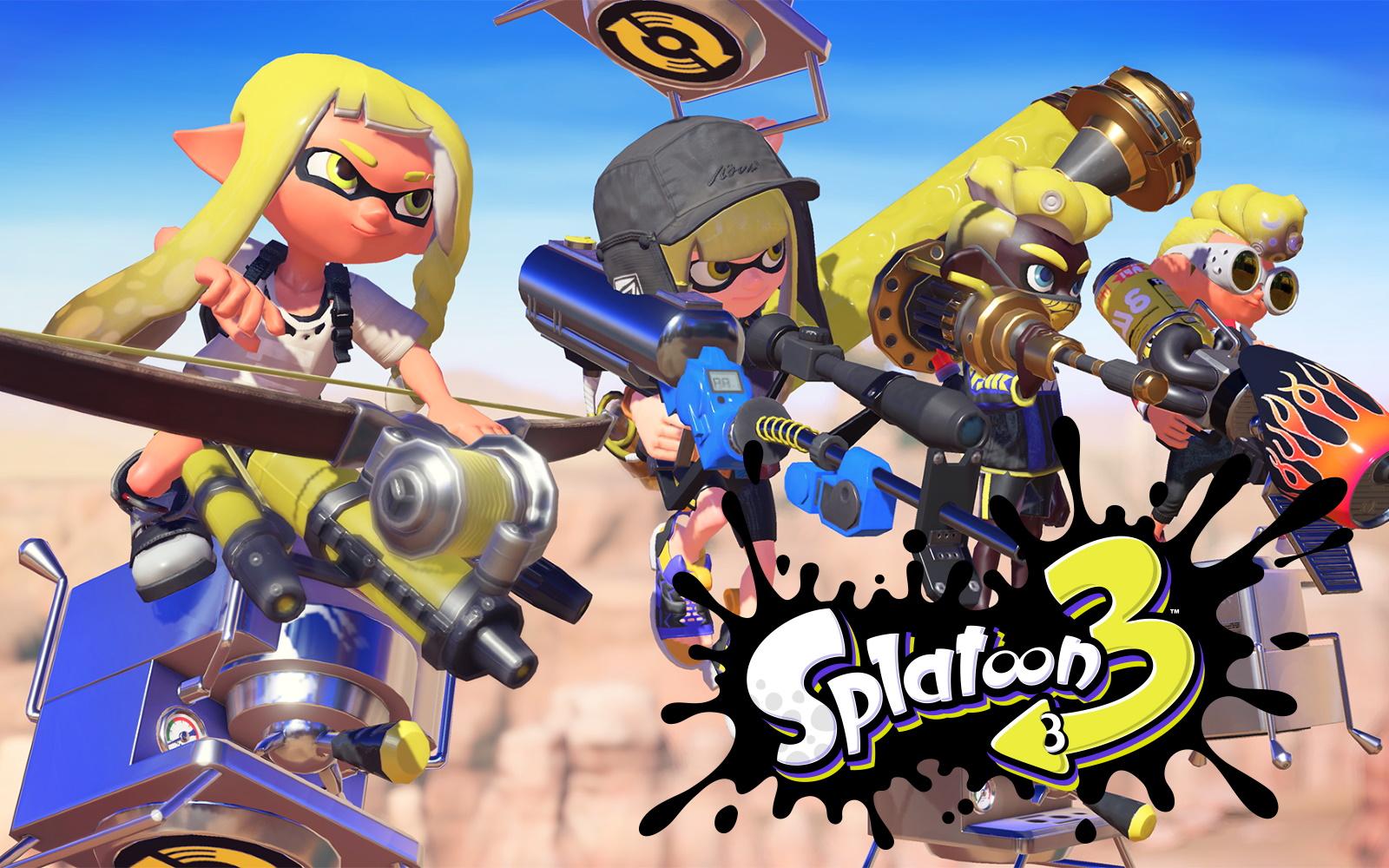 Splatoon 3 Announced For Nintendo Switch