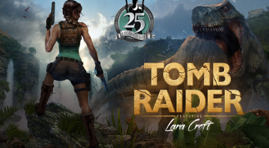 Tomb Raider 25th Celebration Header