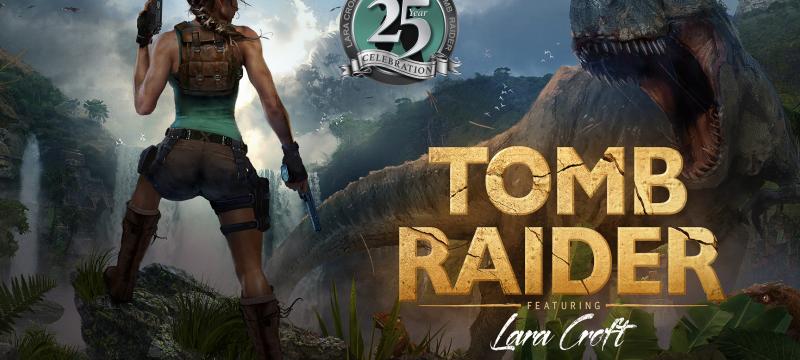 Tomb Raider 25th Celebration Header