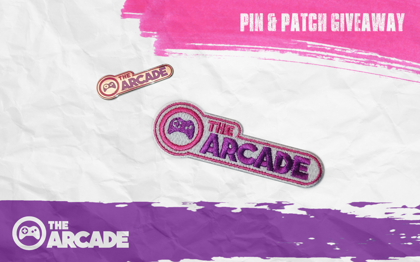 The-Arcade March Giveaways