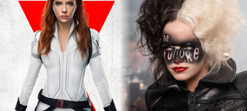 Black Widow and Cruella Coming To Disney Plus