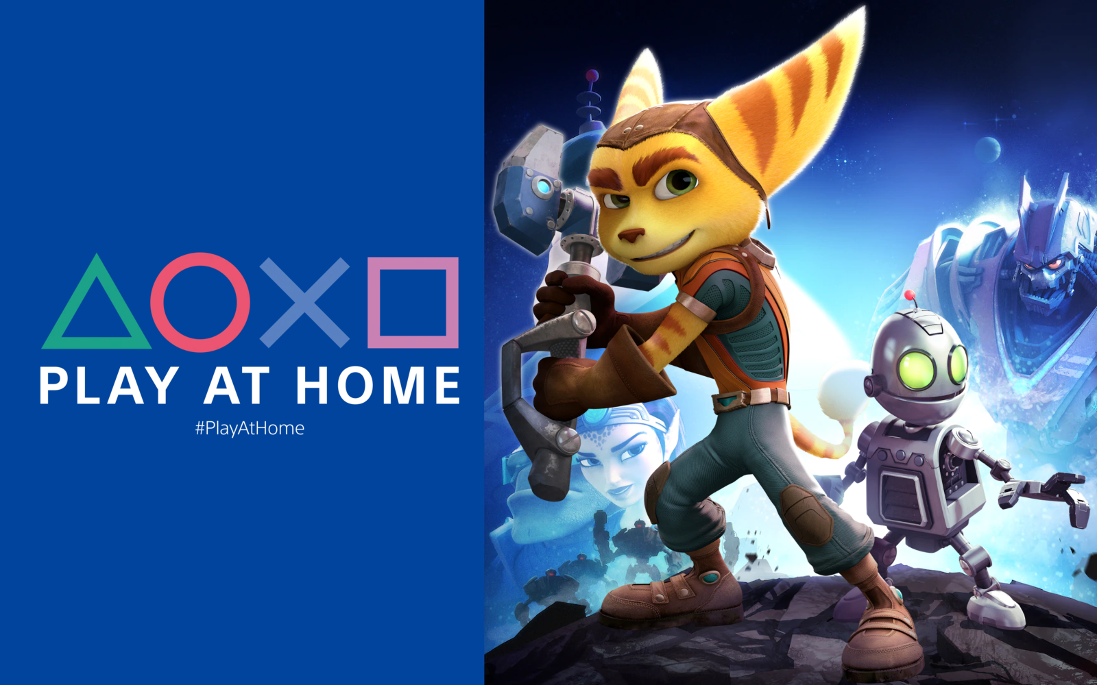 Play At Home Gives Players Ratchet And Clank (2016) For Free