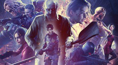 Resident Evil 25th Anniversary Key Art Header