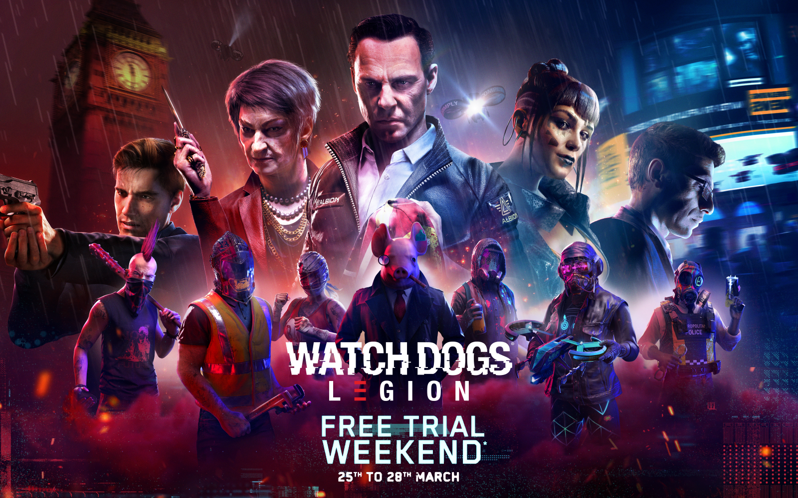 Play Watch Dogs: Legion Free This Weekend, Plus Future Road Map Revealed