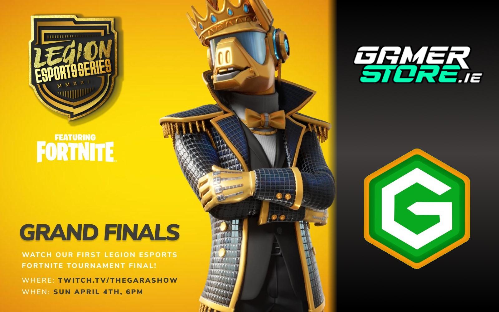 Legion eSports Series Fortnite Grand Final Happening Sunday April 4th