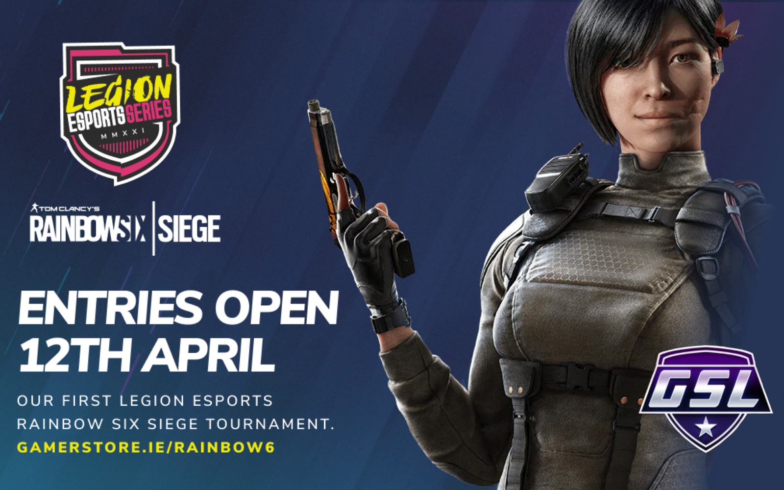 The Next Legion eSports Series Will Be A Rainbow Six Siege Event In May