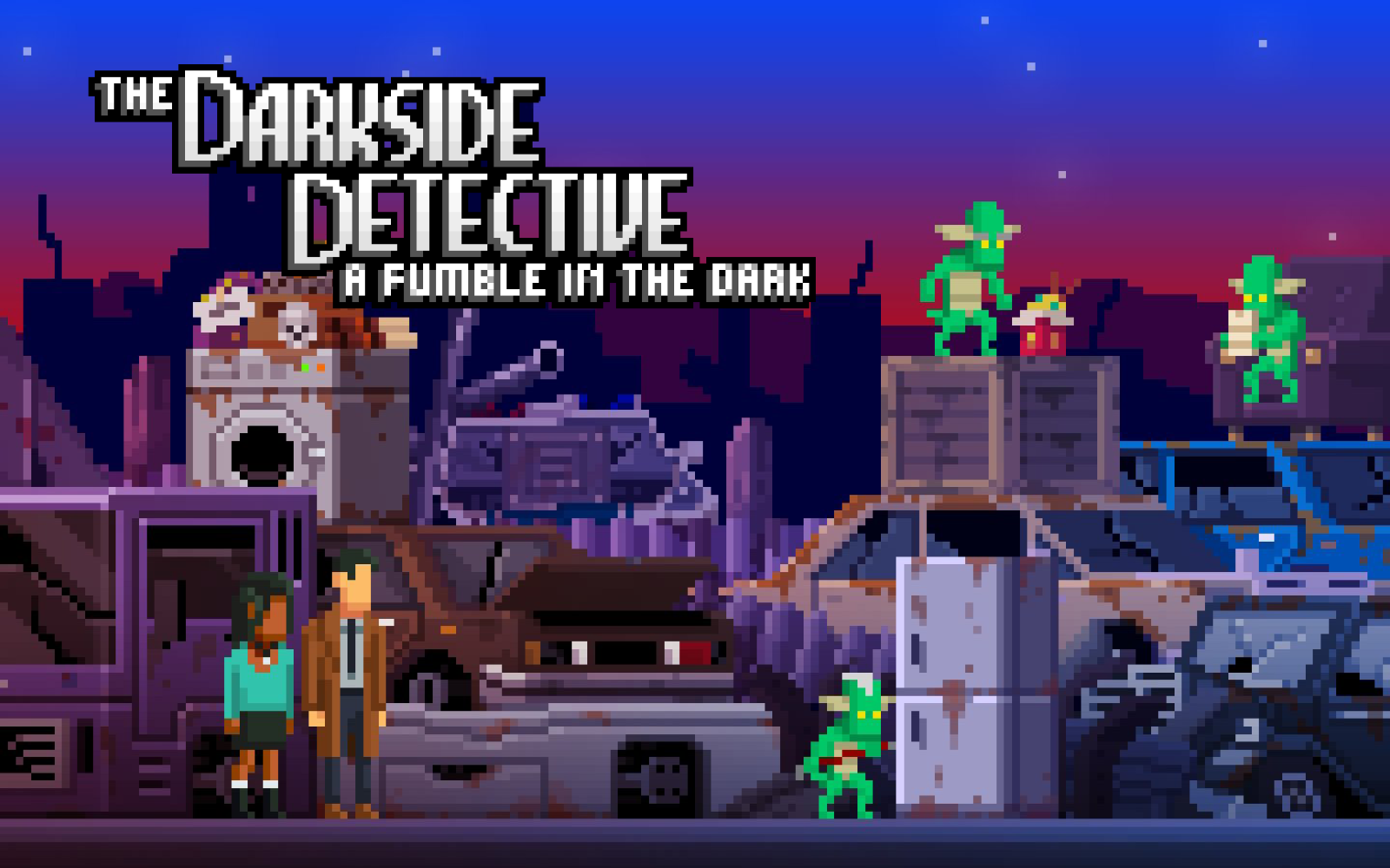 The Darkside Detective Sequel Releases in April