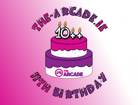 Birthday logo header
