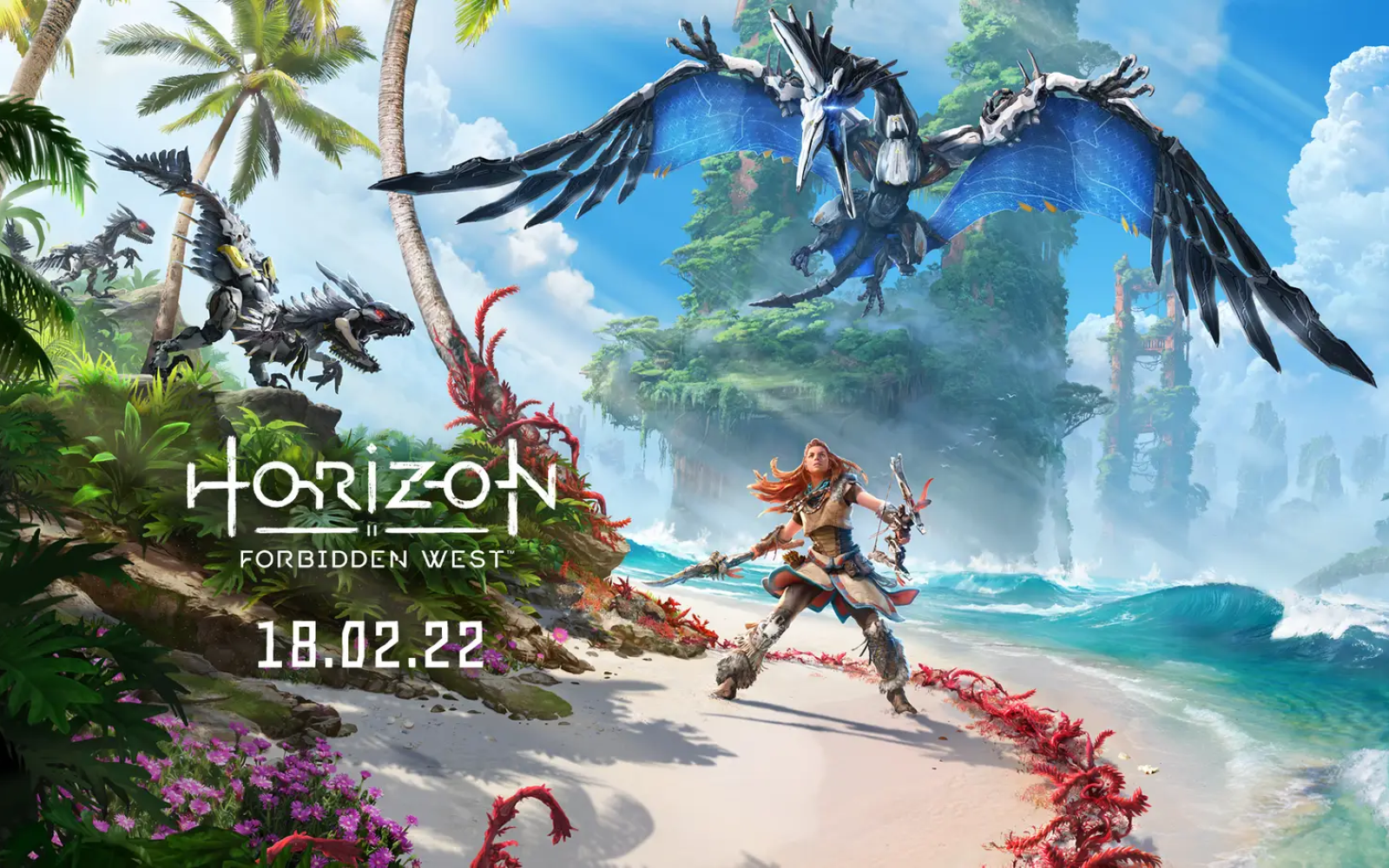 Horizon Forbidden West Coming February 2022. New PS5 Patch Released For Horizon Zero Dawn
