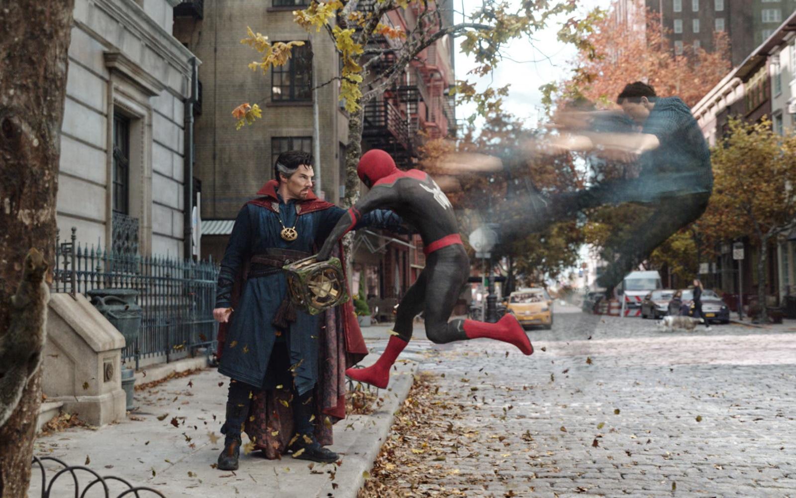Worlds Collide In The Spider-Man: No Way Home Trailer
