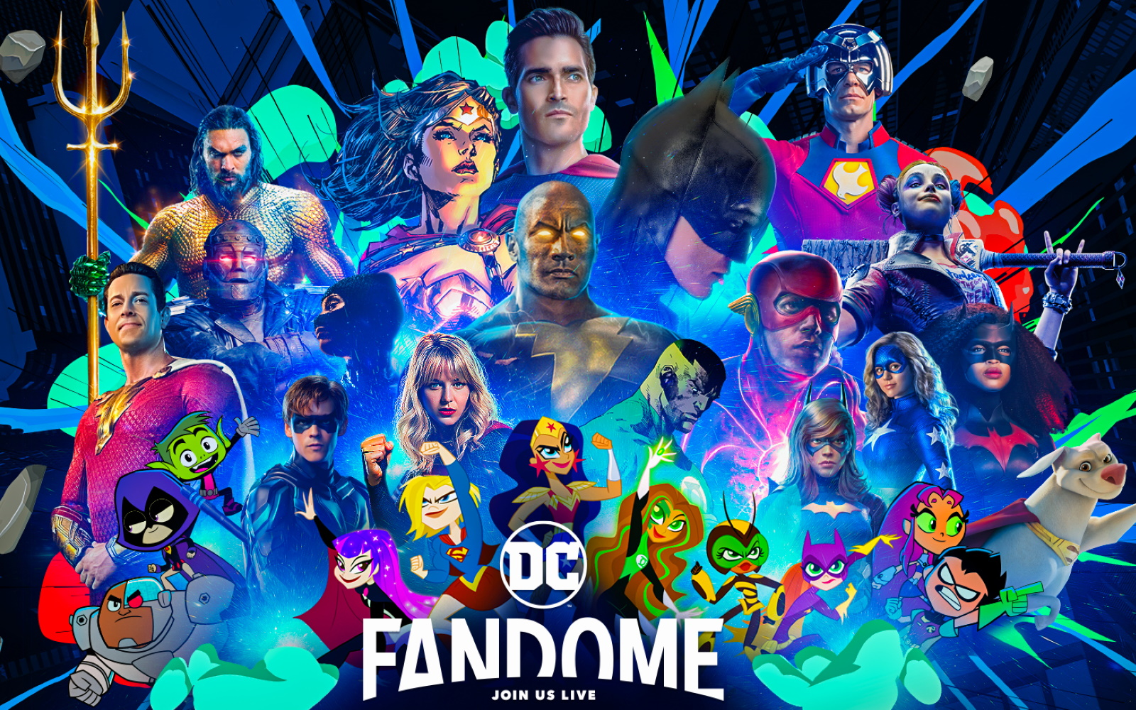 Warner Announce DC FanDome Event Returns On October 16th