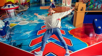 Red Bull and Pavel Petkuns Human Pinball